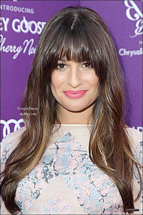 9 Juin 2012: Lea Michele au 11th Annual Chrysalis Butterfly Ball. Pour moi c'est Bof, j'aime bien la forme de sa robe mais pas les motifs  :(