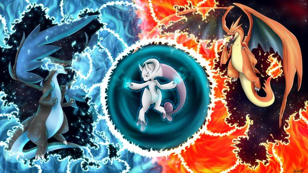 Mega Dracaufeu Xy Vs Mega Mewtwo Y Blog Art