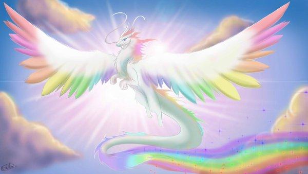 Dragon arc en ciel blog art - Dragon arc en ciel ...