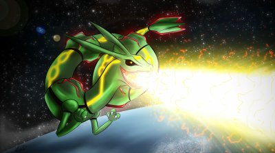 ★ Tuto step by step - Rayquaza ★