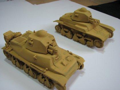Marder III et son dio , SdKfz 251 , Hotchkiss H35 , Renault R 35