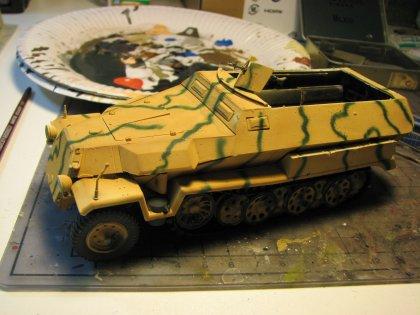 SdKfz 251 ( sans stuka zu fuss )