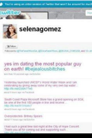 Selena tweet