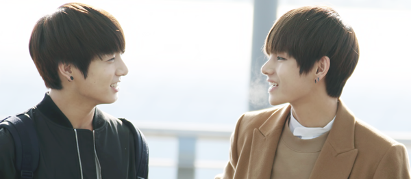 >> Je t'aime, hyung.