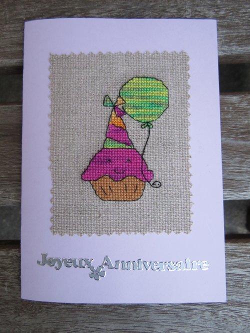 Ronde des cartes d'anniversaires