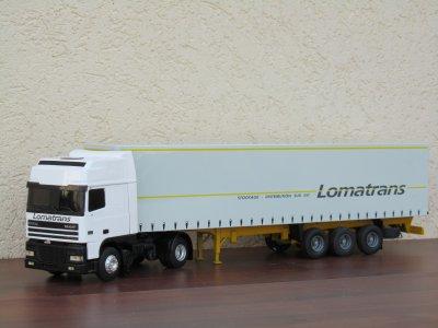 Daf XF95 avec taut Lomatrans