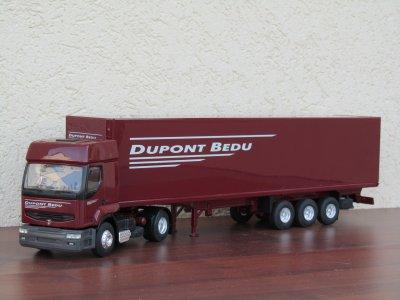 Renault Premium et fourgon Dupont Bedu