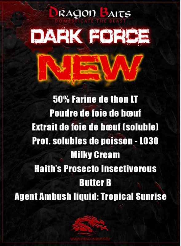 Présentation gamme Drak Force