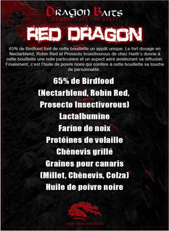 Présentation gamme Red Dragon
