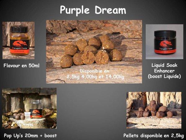 Présentation gamme Purple Dream
