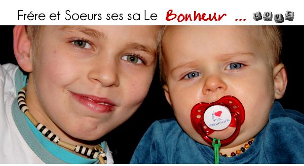 Frére Et Soeur !!! Ses sa Le Bonheur ...
