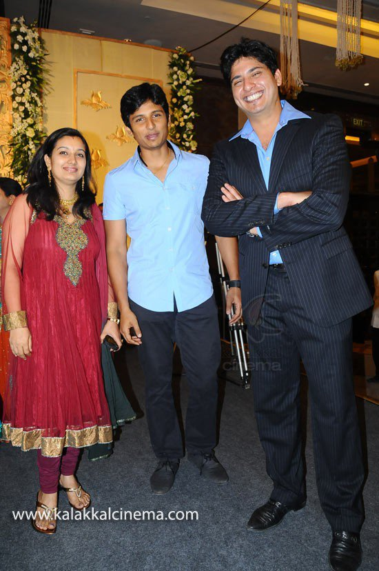 Jiiva & Supriya @ Srikanth 's son wedding
