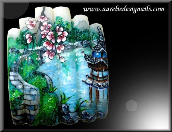 peinture aquarelle sur capsules