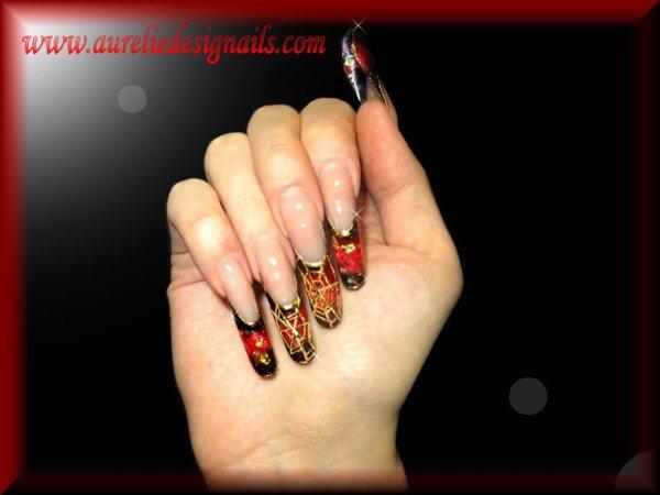 ongles en résine
