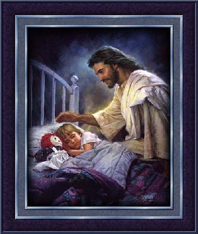 JESUS CHRIST est toujours là. n'en doute point