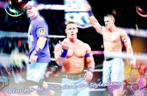 ◊ Article 04 ◊ ► Rèsultats de John Cena. ◄ ● You're Source About John Cena ●