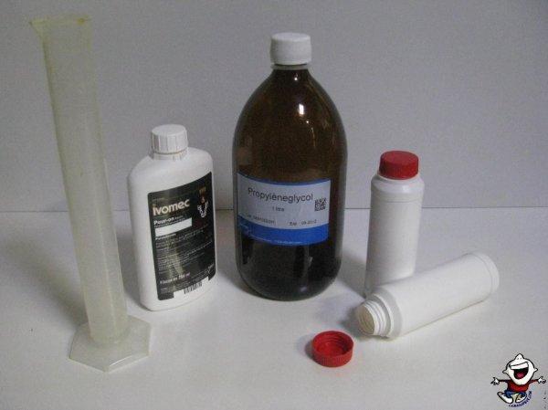 préparation d'vermectine à partir d'ivomec 0.5%