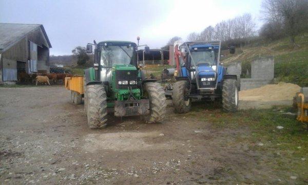 Les tracteur tm250 6630 6840 6M170
