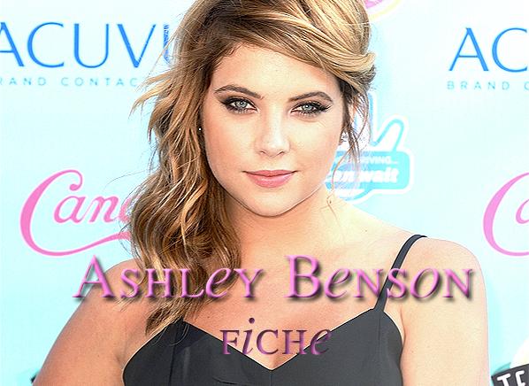 . Ashley Benson .