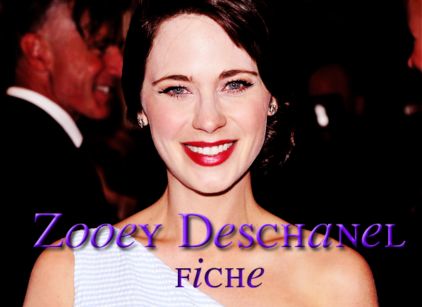 . Zooey Deschanel .