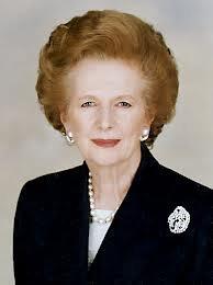 La mort de la  Baronne  Thatcher dite ''la dame de fer ''