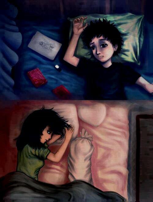 Pour mon chéri que j'ai peur de perdre a jamais ! ♥ :'(