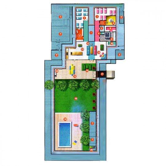 secret story 7 plan de la maison