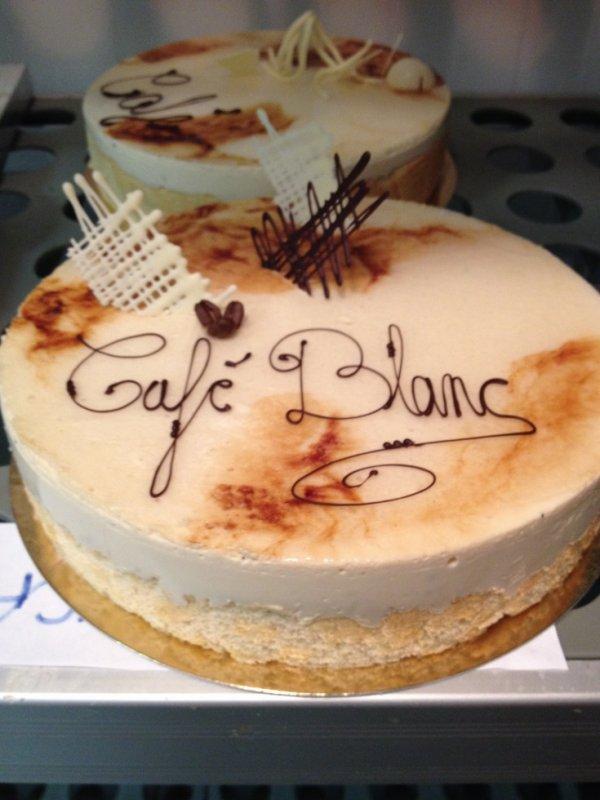 Entremet Café Blanc
