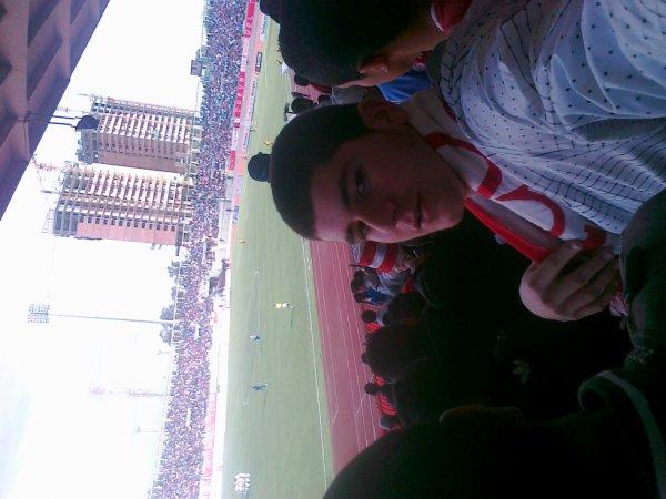me in the stadium