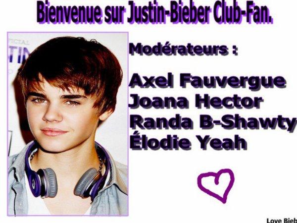 Partenaires : BieberFans Actu & Justin-Bieber Fan-Club .
