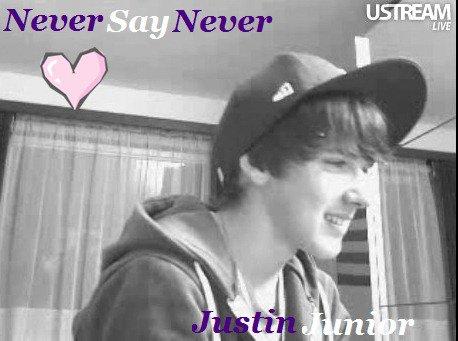 Concours Justin Junior sur écran ;) .