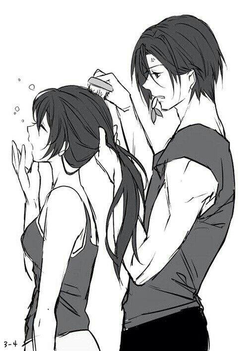 Kyaaa ! Rin et Gou ! trop kawaiii <3