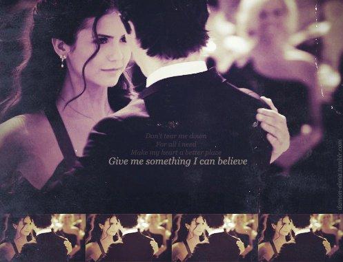 Elena & Damon, love. ♥
