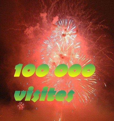 100 000 VISITES