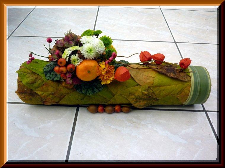 Très Les compos d'automne , je ne m'en lasse pas - Art floral UW35