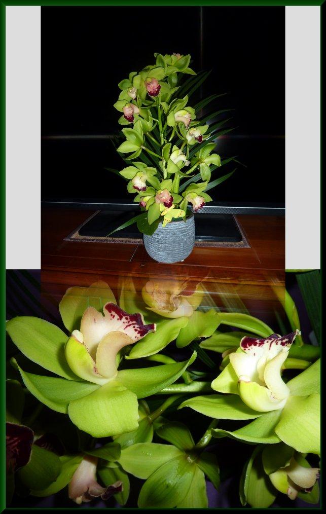 Que c'est agréable de recevoir des fleurs, merci !!!!!!
