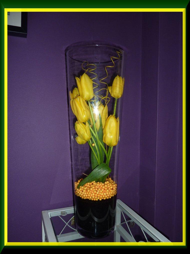 Les tulipes du jardin pour vous souhaiter une bonne journée