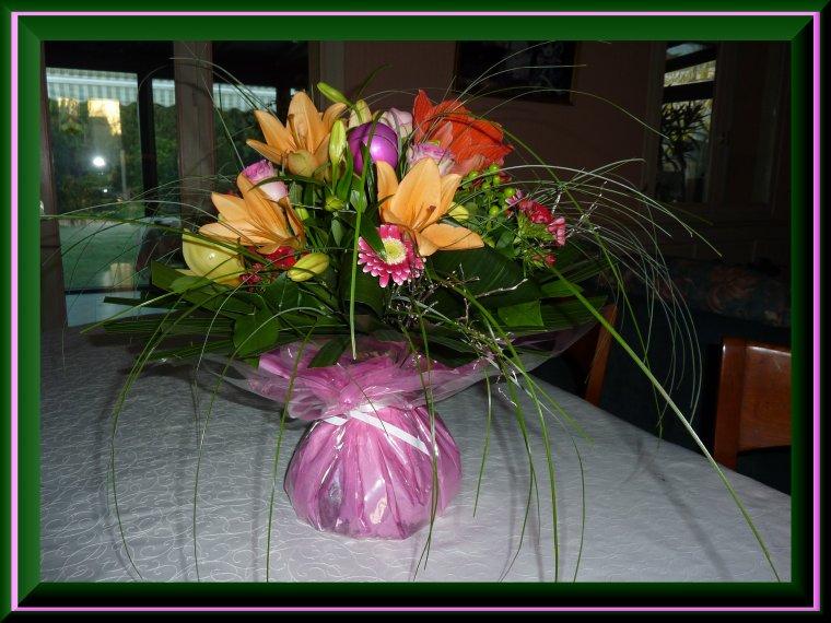 Un bouquet comme je les aime, un grand merci !