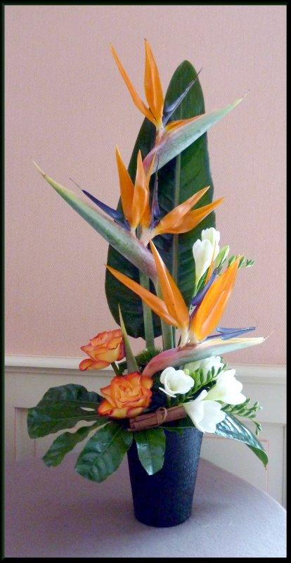 J'ai réalisé cet arrangement pour  l'anniversaire de Simone et  Alain