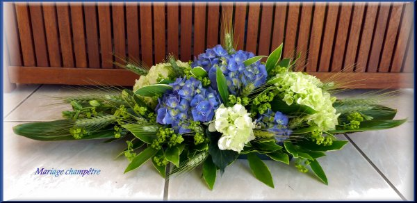 Félicitations aux mariés ( mariage champêtre )