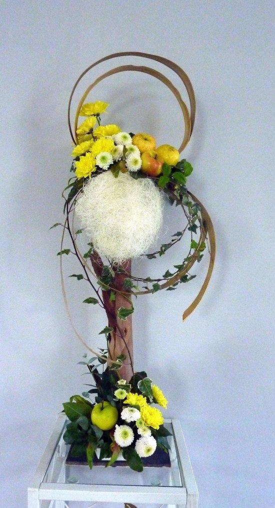 Cours d'octobre ---  bouquet d'accueil