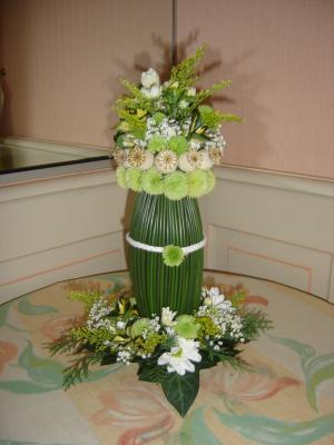 Centre de table art floral - Centre de table floral ...