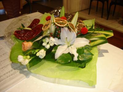 Noce d 39 or art floral - Cadeau noce d or ...