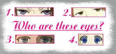 [ JEU TERMINÉ ] À qui sont ces yeux?