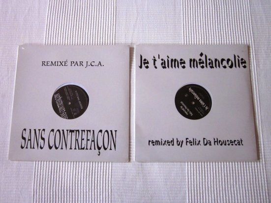 Remixes: Les singles