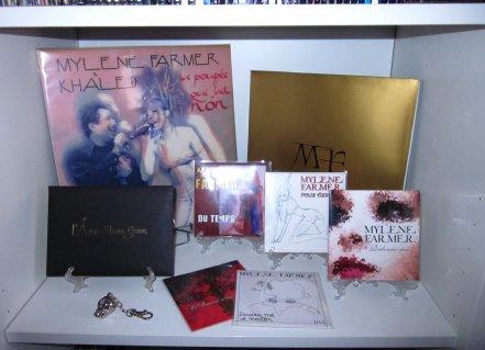 CD promo L'Amour n'est rien et Dessine moi un mouton Live
