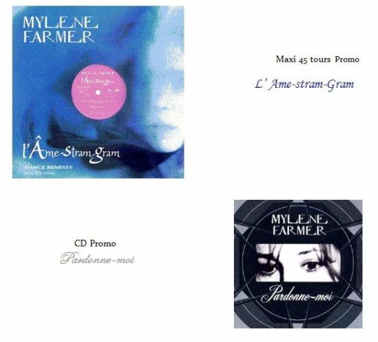 Maxi 45 tours promo L'Ame Stram Gram et CD promo Pardonne-moi