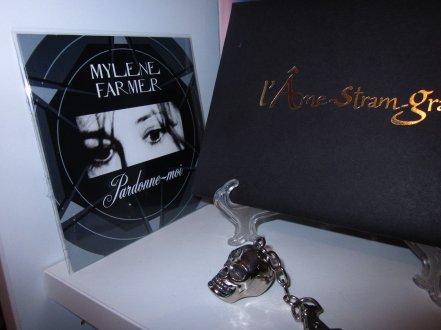 Vinyle promo l'Ame-stram-gram et CD promo Pardonne-moi