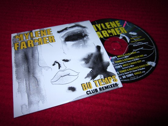 CD promo remixes Du Temps