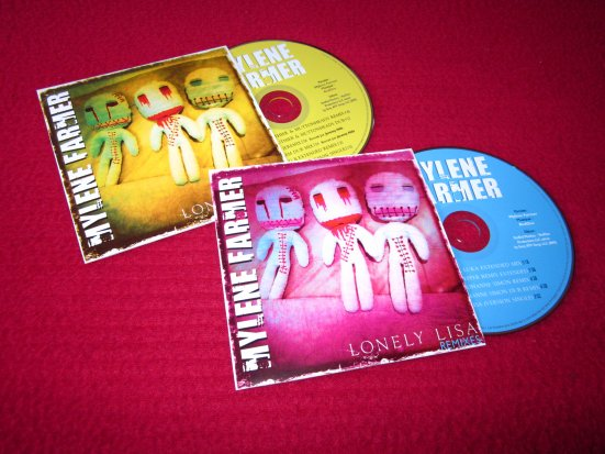 CD's promo Remixes Lonely Lisa